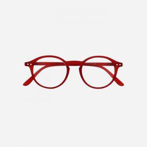 #D Reading Glasses Red