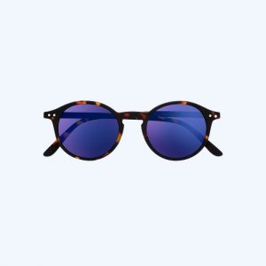 #D Sunglasses Tortoise Mirror