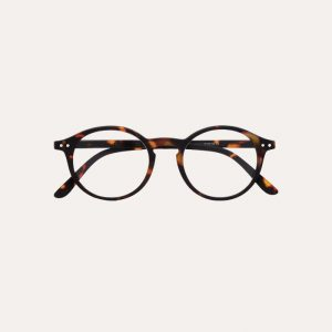 #D Reading Glasses Tortoise