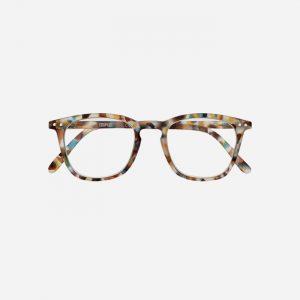 #E Reading Glasses Blue Tortoise