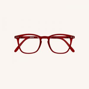 #E Reading Glasses Red