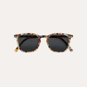 #E Sunglasses Blue Tortoise