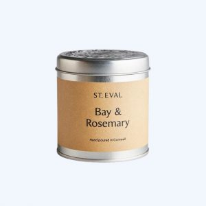 Bay and Rosemary Tin Candle