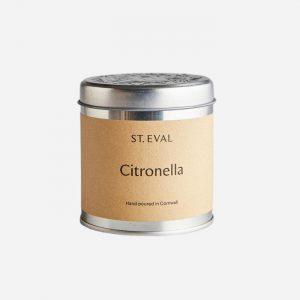 Citronella Tin Candle