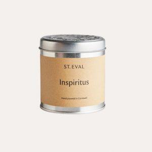 Inspiritus Tin Candle
