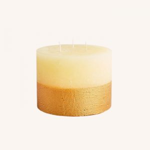 Inspiritus Scented Gold Dipped Multiwick Candle