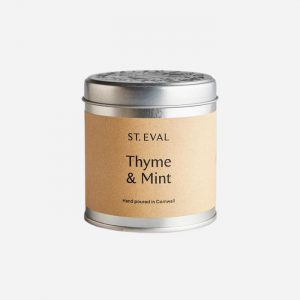 Thyme and Mint Tin Candle