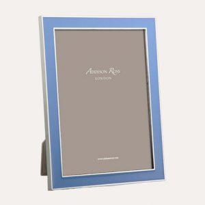 Periwinkle Enamel Silver Frame