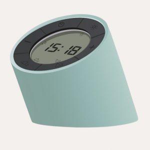 The Edge Light Alarm Clock Green