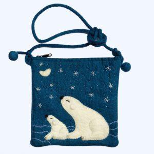 Polar Bear Bag Blue
