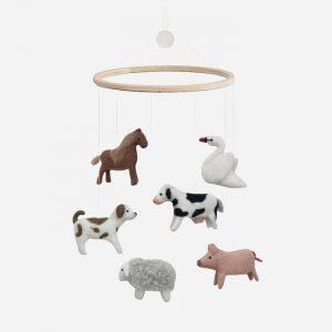 Farm Animals Mobile