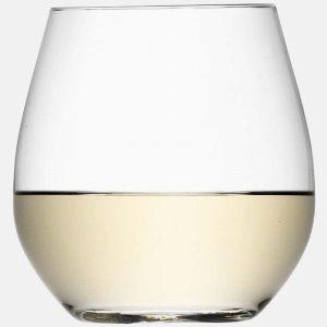 Wine Stemless White Wine Glass