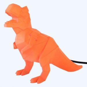Orange Dinosaur Lamp