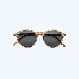#D Reading Sunglasses Blue Tortoise