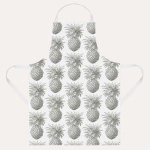 Pineapple Grey Apron