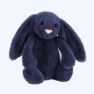 Bashful Navy Bunny