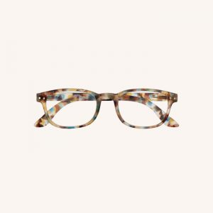 #B Reading Glasses Blue Tortoise