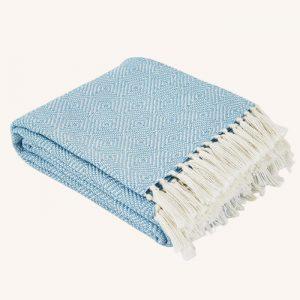 Diamond Blanket Azure