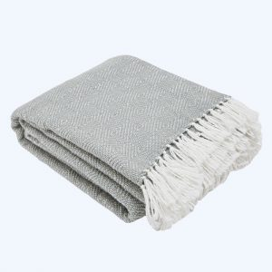 Diamond Blanket Dove Grey