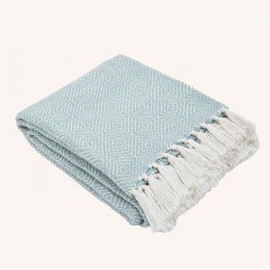 Diamond Blanket Teal