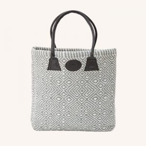 Recycled Plastic Provence Bag Dove Grey
