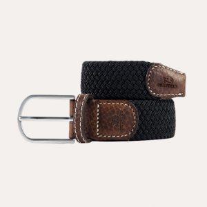 Plain Braid Belt Black Licorice