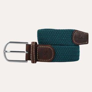 Plain Braid Belt Caribbean Blue