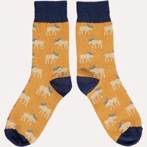 Ladies Cotton Moose Ankle Socks