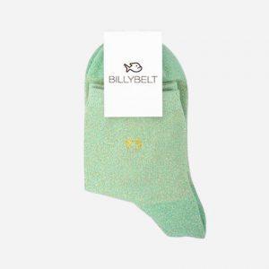 Glitter Socks Green Water