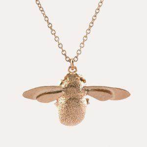 Bumblebee Necklace Rose Gold