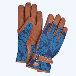 Love The Glove Navy Oak Leaf Gloves