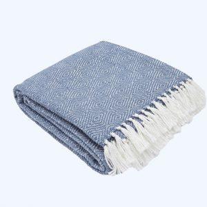 Diamond Blanket Navy