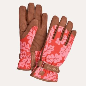 Love The Glove Oak Leaf Poppy Gloves