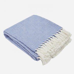 Diamond Blanket Cobalt