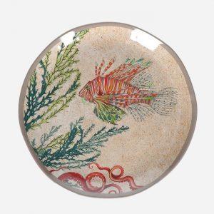 Sea Life Melamine Salad Plates