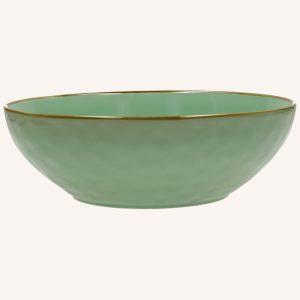 Concerto Salad Bowl Tiffany Green