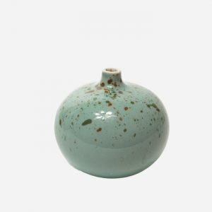 Bari Freckles Green Small Vase