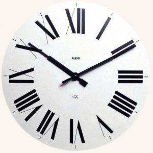 Firenze Clock White