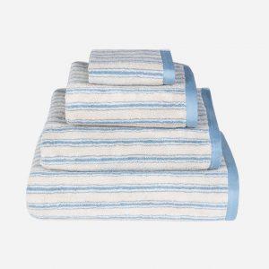 Stripe Blue Towel