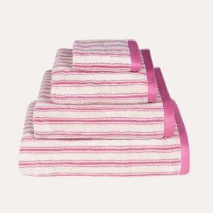 Stripe Pink Towel
