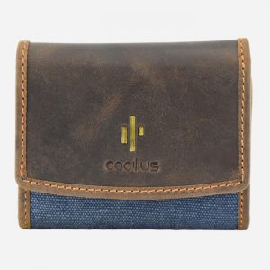 Flap Over Small Purse Denim