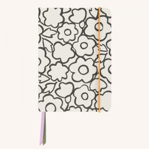 Doodle Floral A5 Notebook