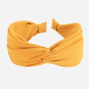 Yellow Wide Twist Headband