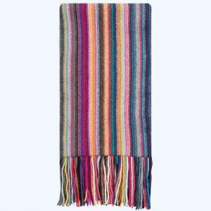 Dee Scarf Multicoloured Stripe