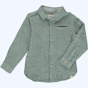 Gauze Shirt Green