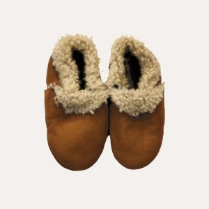 Sheepskin Booties Tan