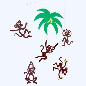 Monkey Tree Mobile