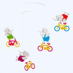 Cyclephants Mobile