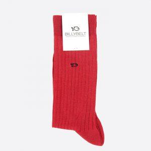Lisle Socks Red