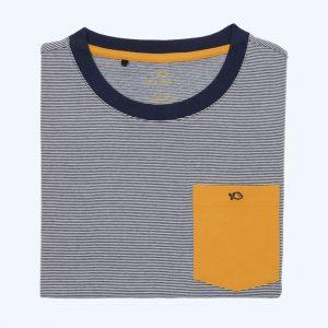The Original Tee-Shirt Camel/Blue